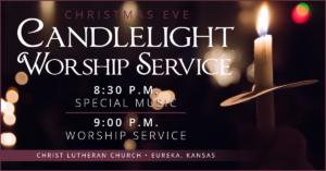 Christmas Eve Candlelit Service